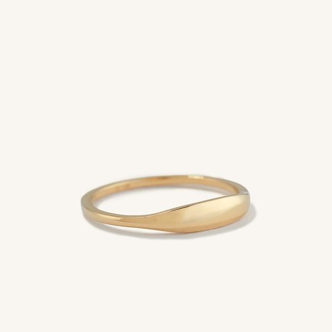 Slim Signet Ring