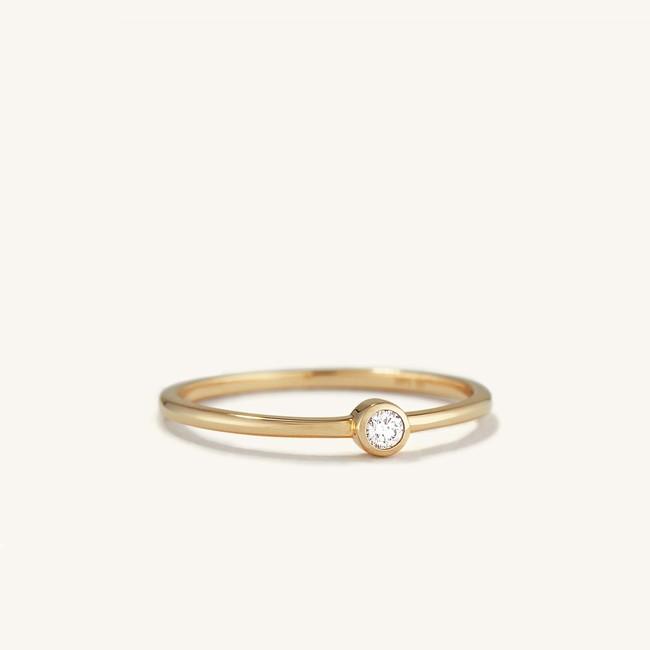 Solo Diamond Ring
