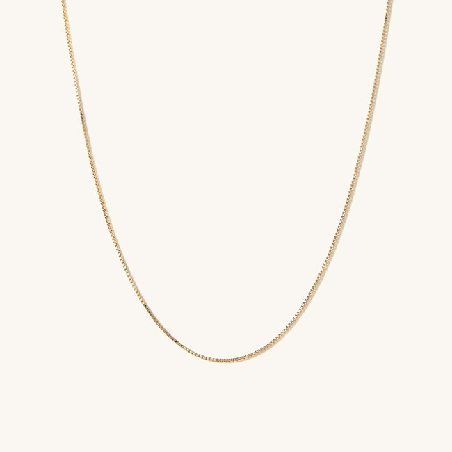 Baby Box Chain Necklace